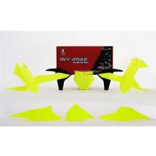 New KTM SX SXF 125 150 250 350 450 2019 19 Plastic Kit Neon Flo Yellow Plastics